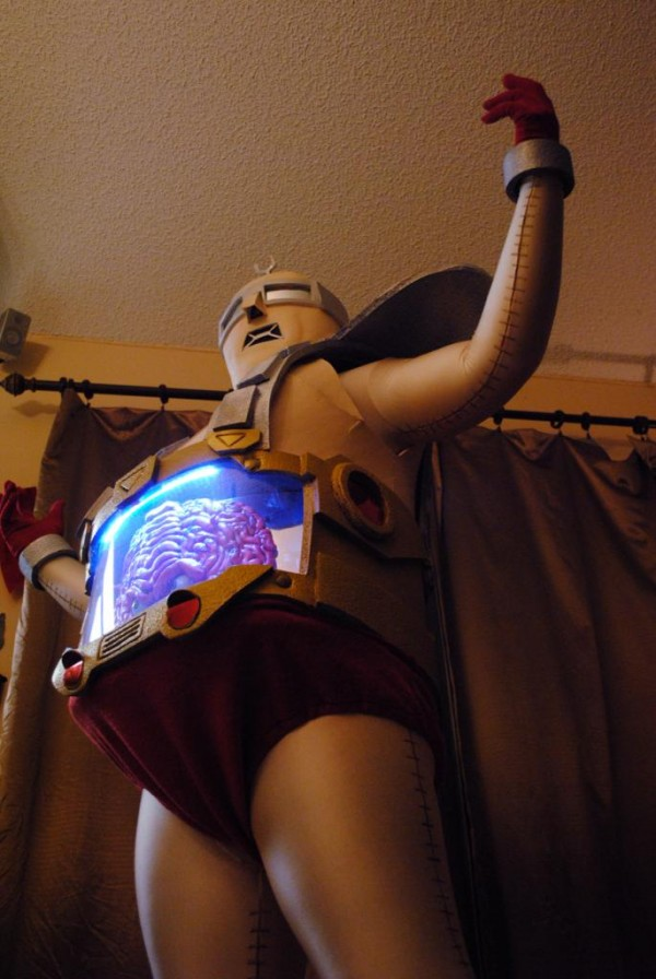 Krang Cosplay Below