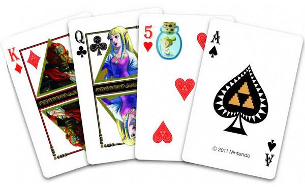 Legend of Zelda Playing Cards