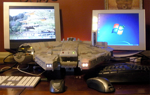 Star Wars Millennium Falcon PC and Mac Case Mod