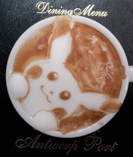 Pokemon Pikachu Latte Art