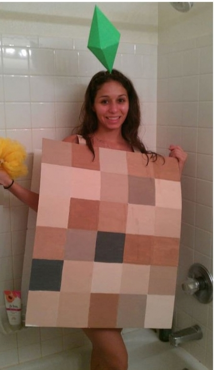 Pixelated Sims Cosplay