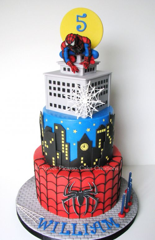 This SpiderMan Birthday Cake is Amazing pic Global Geek News