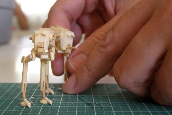 AT-ST Popsicle Models