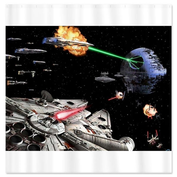 Star Wars Art Shower Curtain