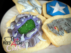 StarCraft 2 Sugar Cookies