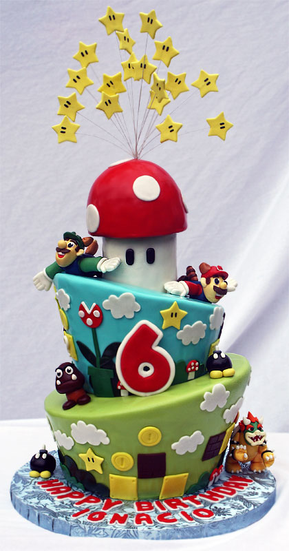 This Is An Awesome Super Mario Bros Birthday Cake Pic Global