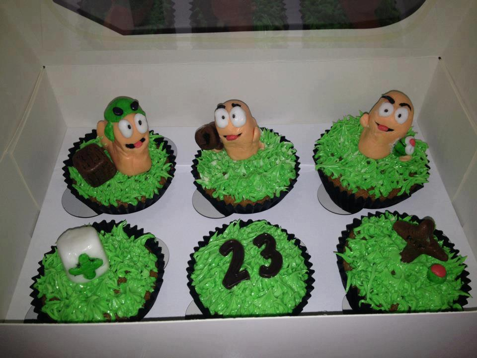 Awesome Worms Cupcakes Pic Global Geek News