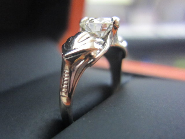 Cylon Engagement Ring
