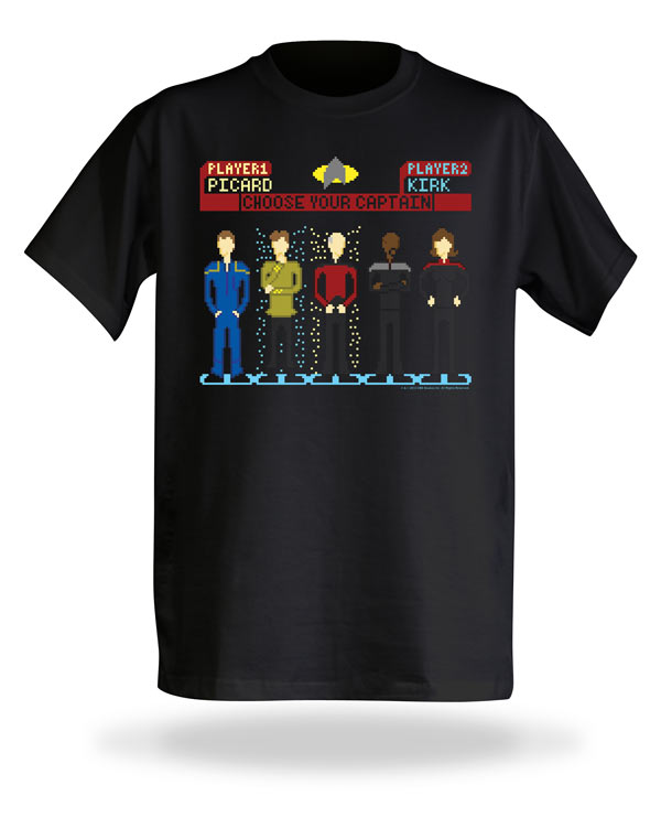 Choose Your Captain Shirt