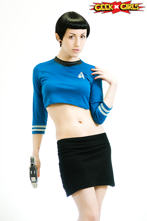 Femme Spock Cosplay