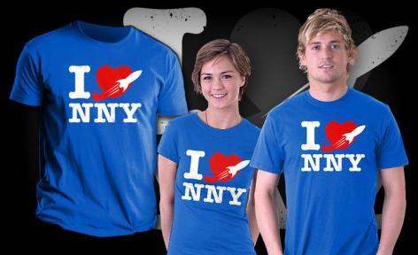 Futurama I <3 NNY Shirt