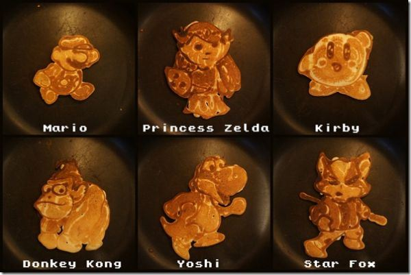 Video Game Pancakes