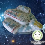 Star Trek: Deep Space Nine Defiant Cake [pic]