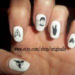 Star Trek Nail Tattoos