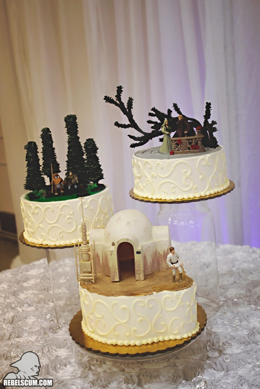 Star Wars Wedding Cakes