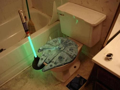 Star Wars Millennium Falcon Toilet