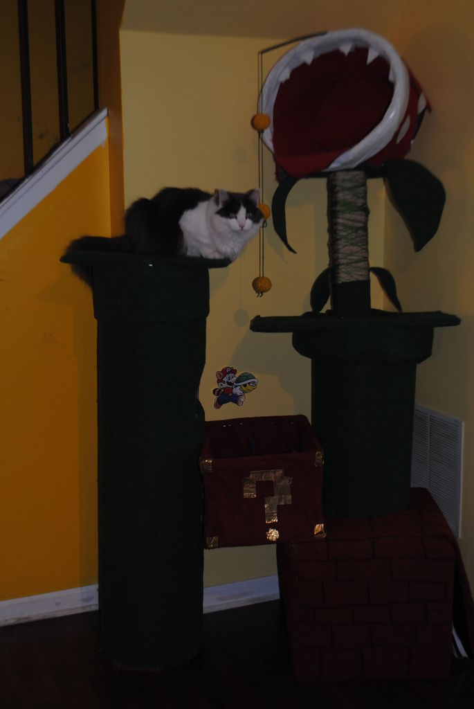 Super Mario Cat Tree