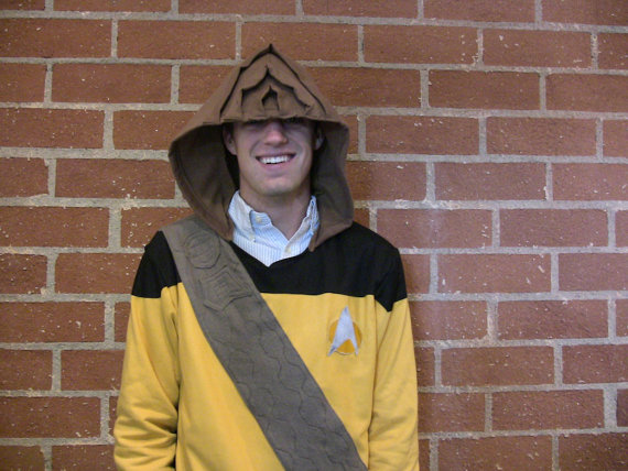 Star Trek Worf Hoodie Sweatshirt