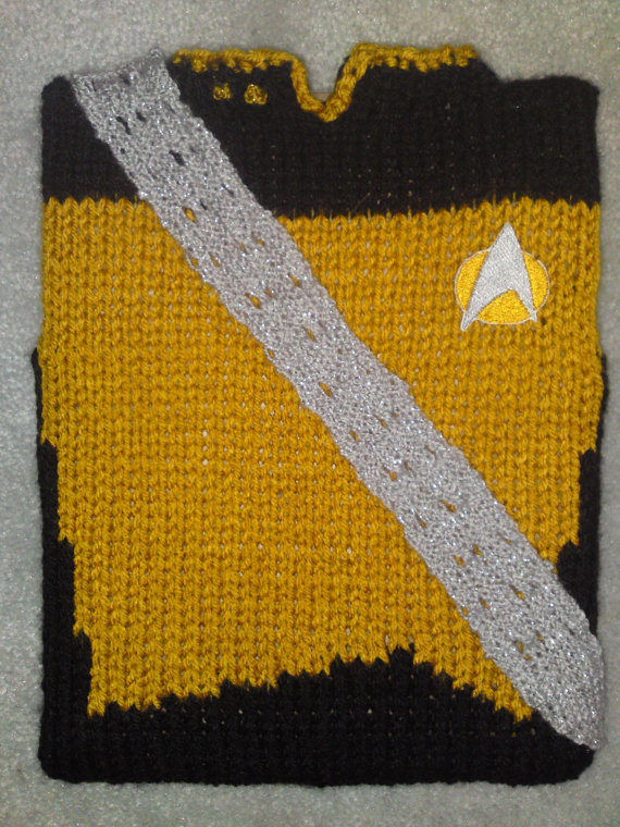 Star Trek Worf Uniform iPad Sleeve