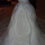 Batman Snowman