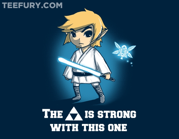 Legend of Jedi T-Shirt Design
