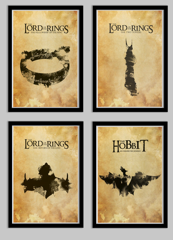 Lord of the Rings Posters