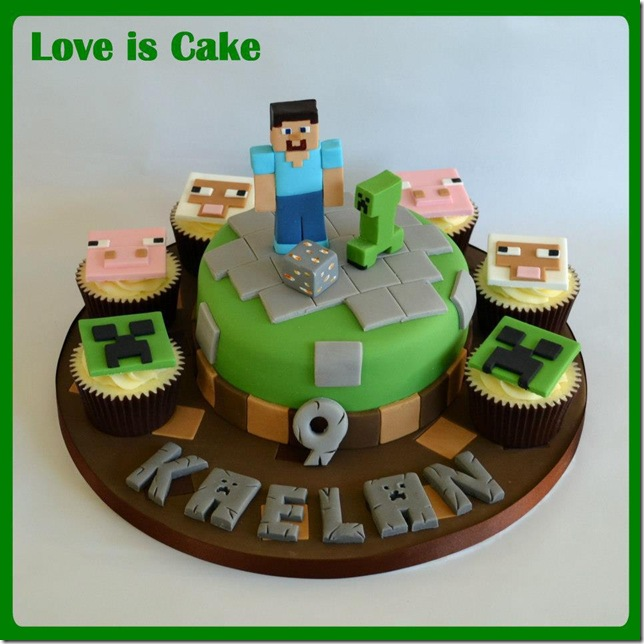 Spectacular Minecraft Wedding Cake Pic Global Geek News