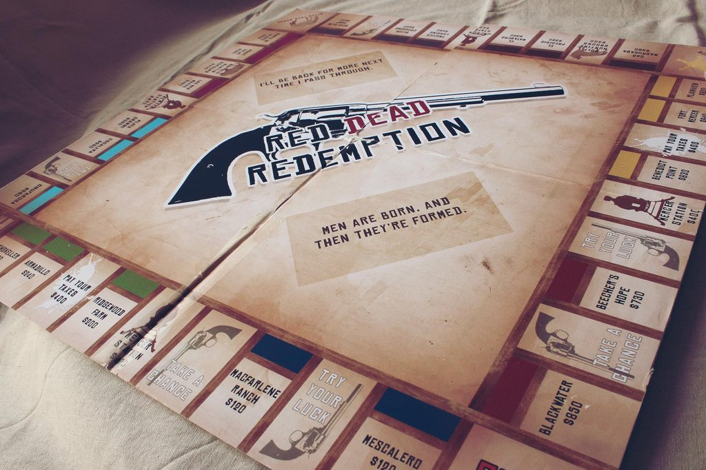 Red Dead Redemption Monopoly