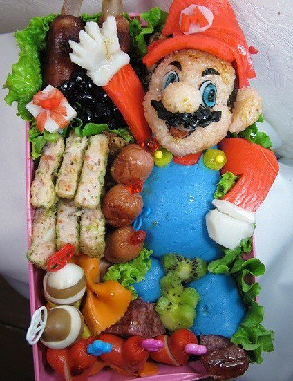 Super Mario Bros food Box