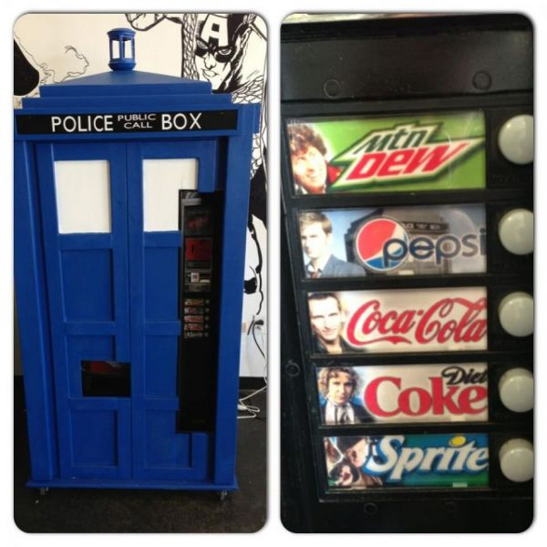 TARDIS Pop Machine