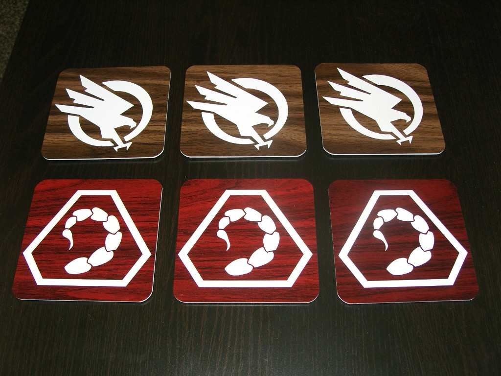 GDI and NOD Coasters