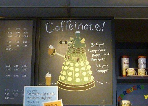 Doctor Who Dalek Caffienate