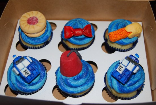 Doctor Who 11th Doctor Cupcakes