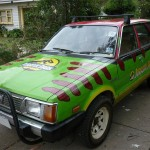This Custom Painted Jurassic Park Car is Amazing [pic]