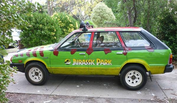 Jurassic Park Car Subaru