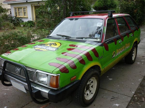 Jurassic Park Subaru