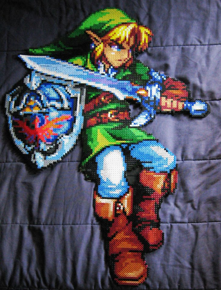 Legend of Zelda Bead Art