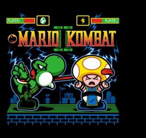 Mario Kombat II Shirt