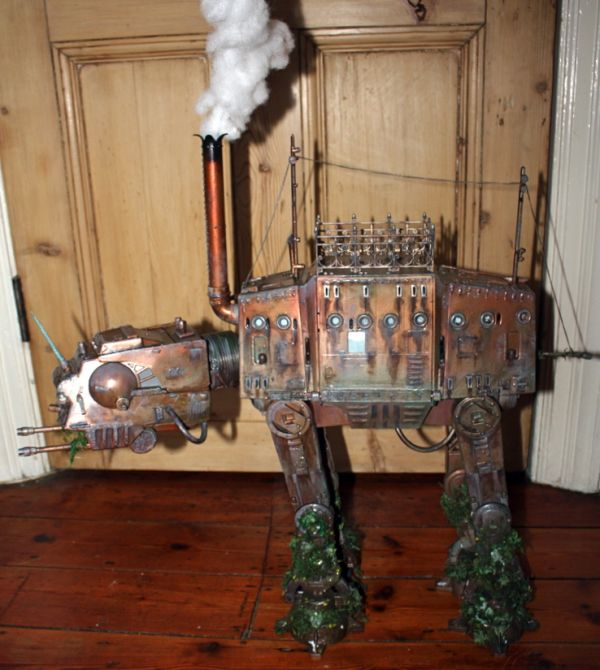 Steampunk Star Wars AT-AT