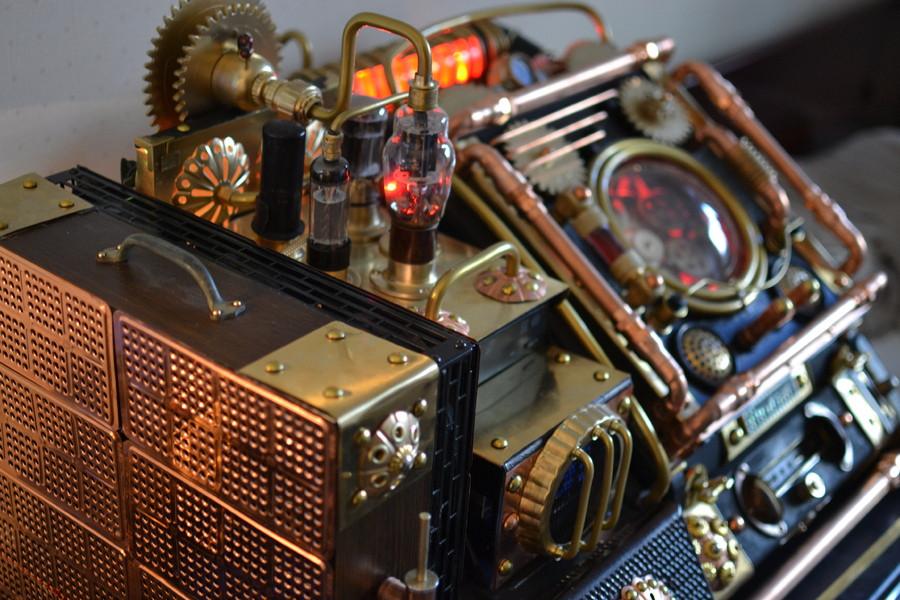 Steampunk Case Mod