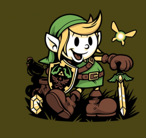 Legend of Zelda Vintage Link Shirt