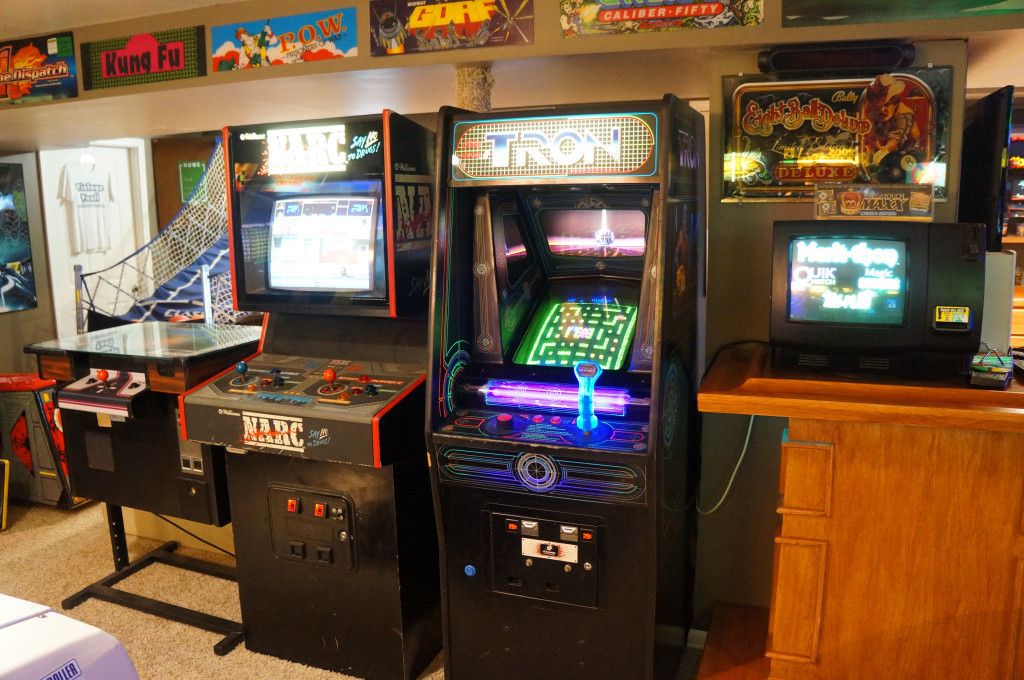 Vintage Vault Arcade and Game Room