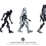 Battlestar Galactica Evolution of the Cylon Poster [pic]