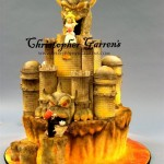 This Bowser's Castle Groom's Cake Will Blow Your Mind! [pics]