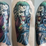 Amazing Batman and Joker Tattoo [pic]
