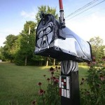 This Fan Made Darth Vader Mailbox is Awesome! [pic]