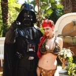 Slave Leia and Darth Vader Get Married [pic + video]