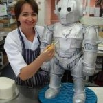 This Doctor Who Inspired Cyberman Cake is Adorable! [pic]