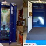 This TARDIS Fold-Down Bed is the Bed of My Dreams! [pics]
