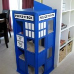 Cats Like To Play In A TARDIS Too! [pic]